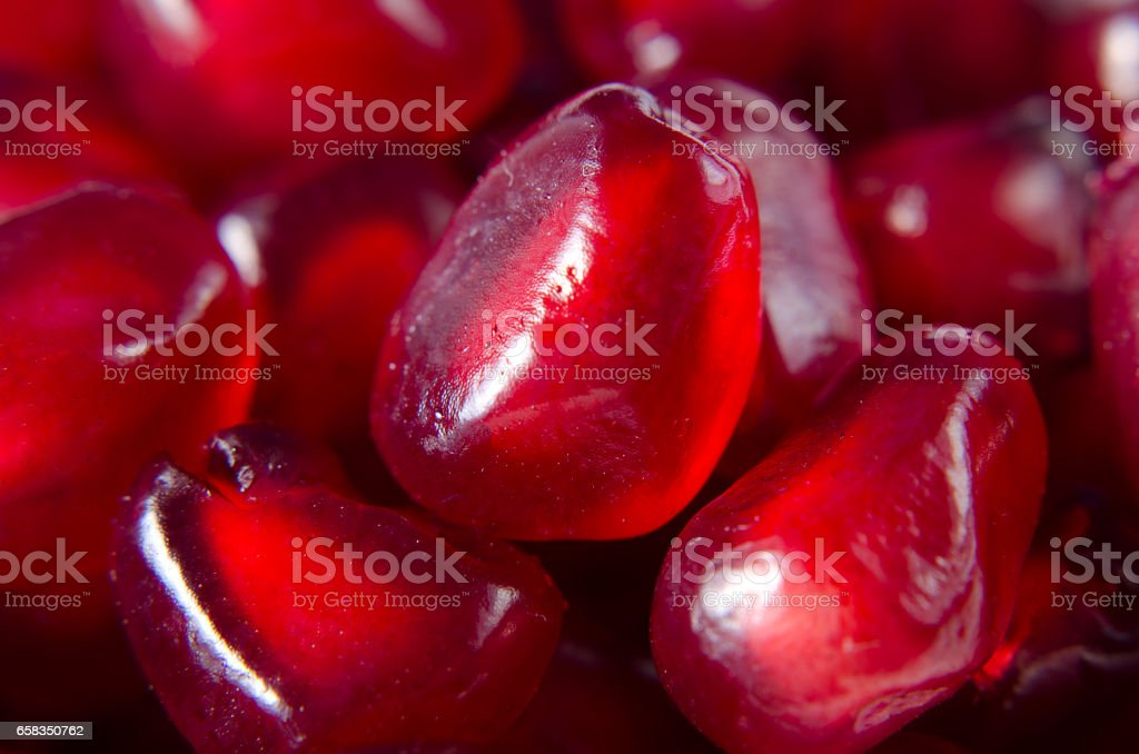 background of pomegranate seeds stock photo