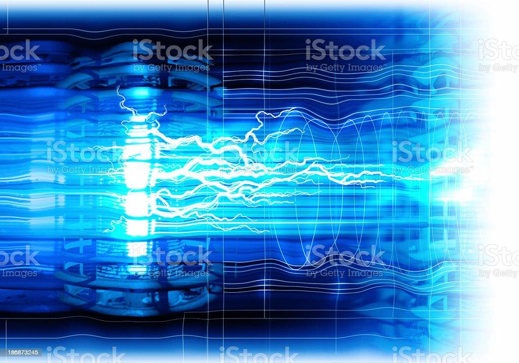 Background of Pure Energy ! stock photo