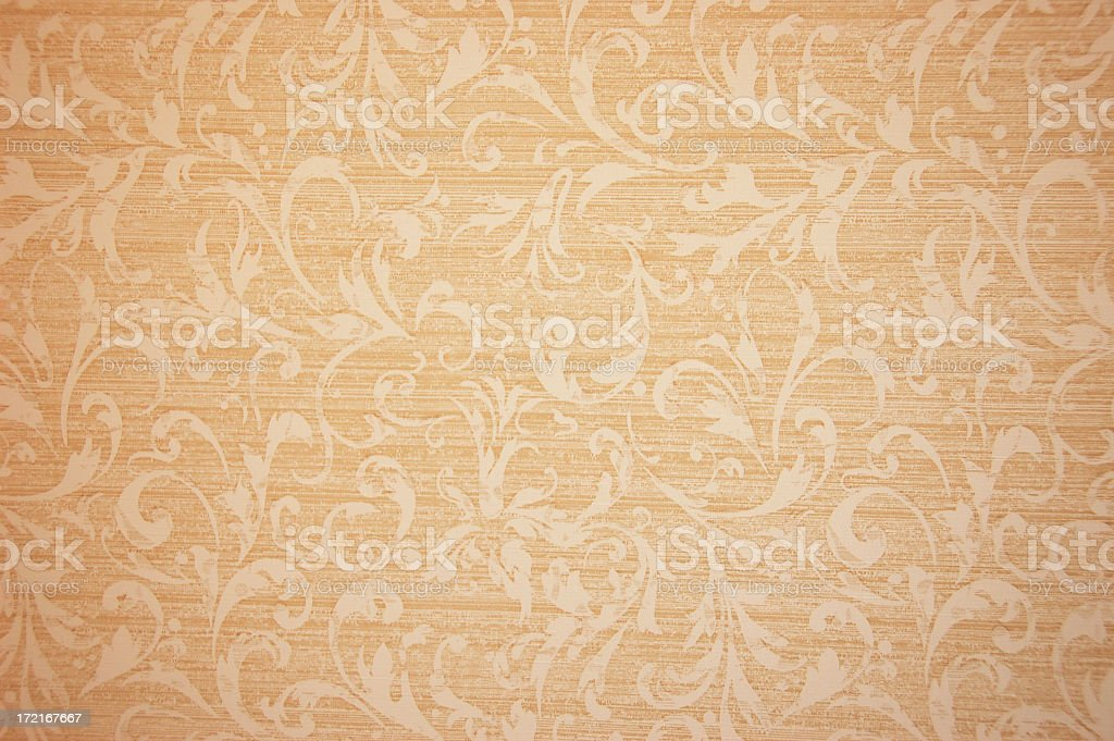 A background of retro wallpaper stock photo