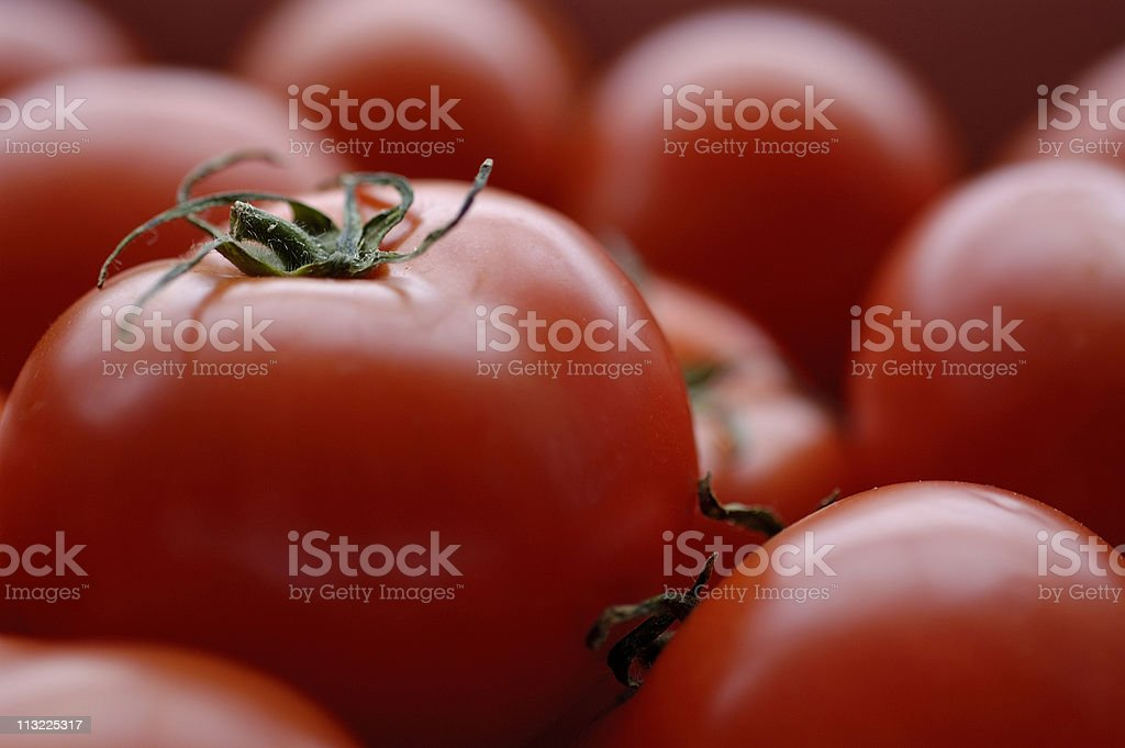 background of ripe red tomatoes stock photo