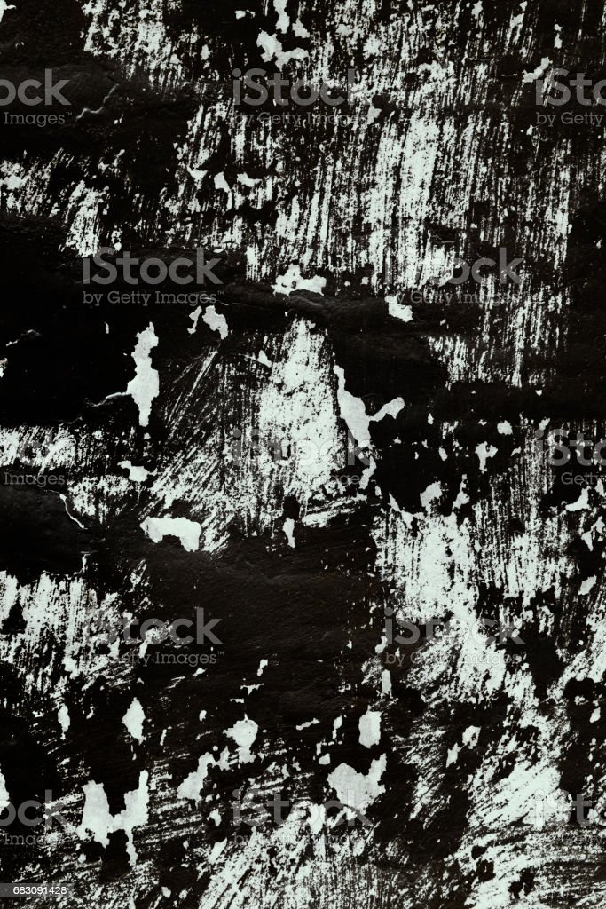 Background of roofing of the old tar paper material on outdoor surface, closeup stock photo