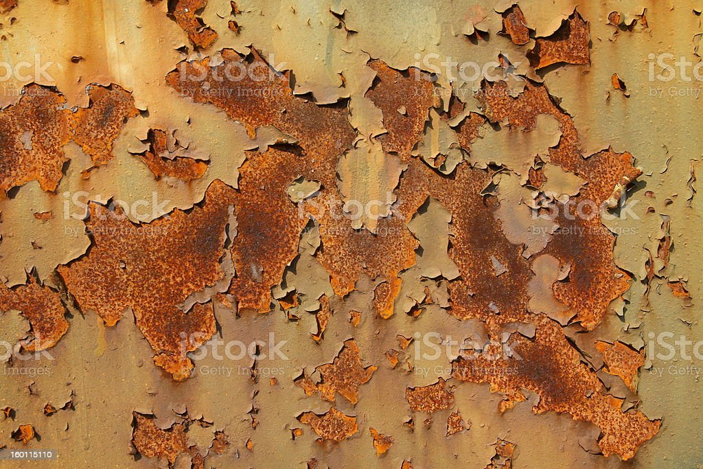 Background of rusty sheet metal royalty-free stock photo