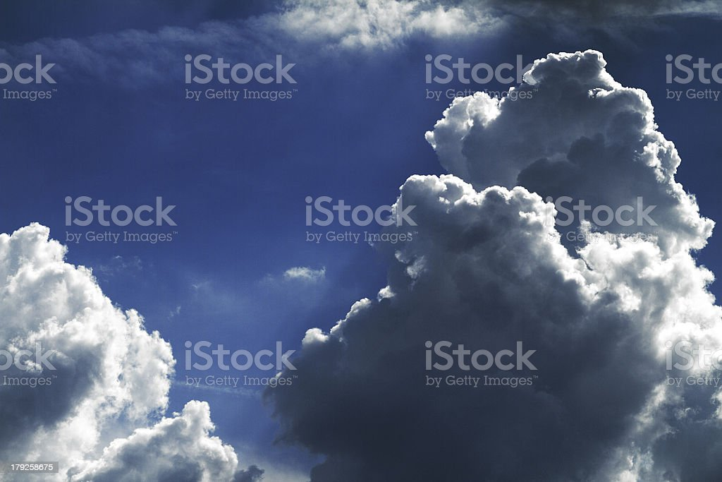 Background of sky royalty-free stock photo