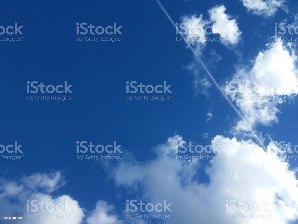 Background of sky stock photo
