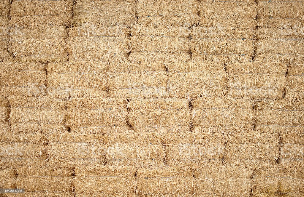 Background of straw royalty-free stock photo