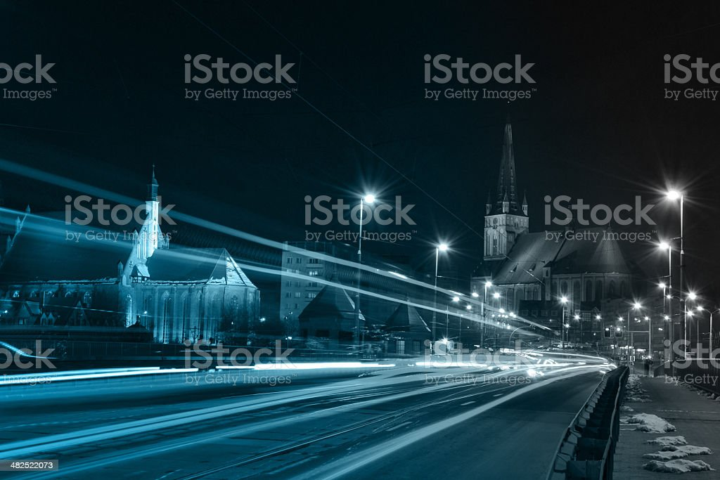Background of the car dipped stock photo