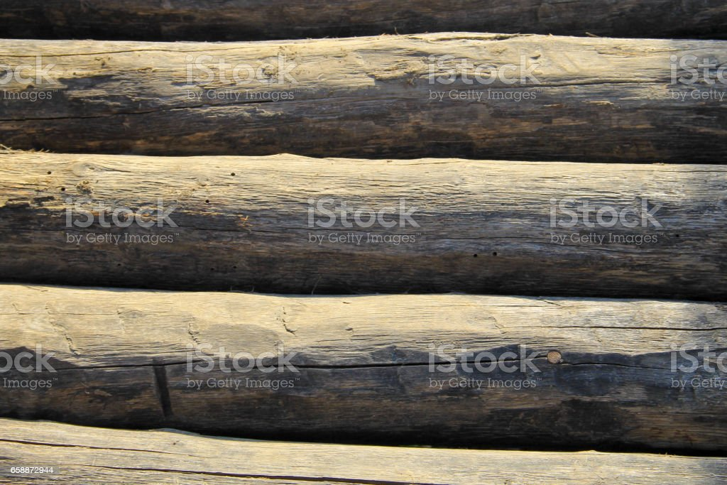 Background of the logs stock photo