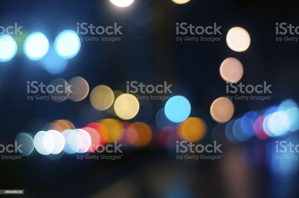 background of the night city royalty-free stock photo