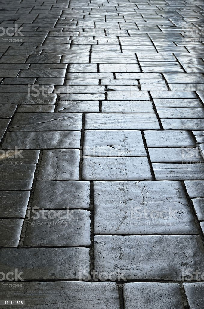 Background of the tiled floor royalty-free stock photo