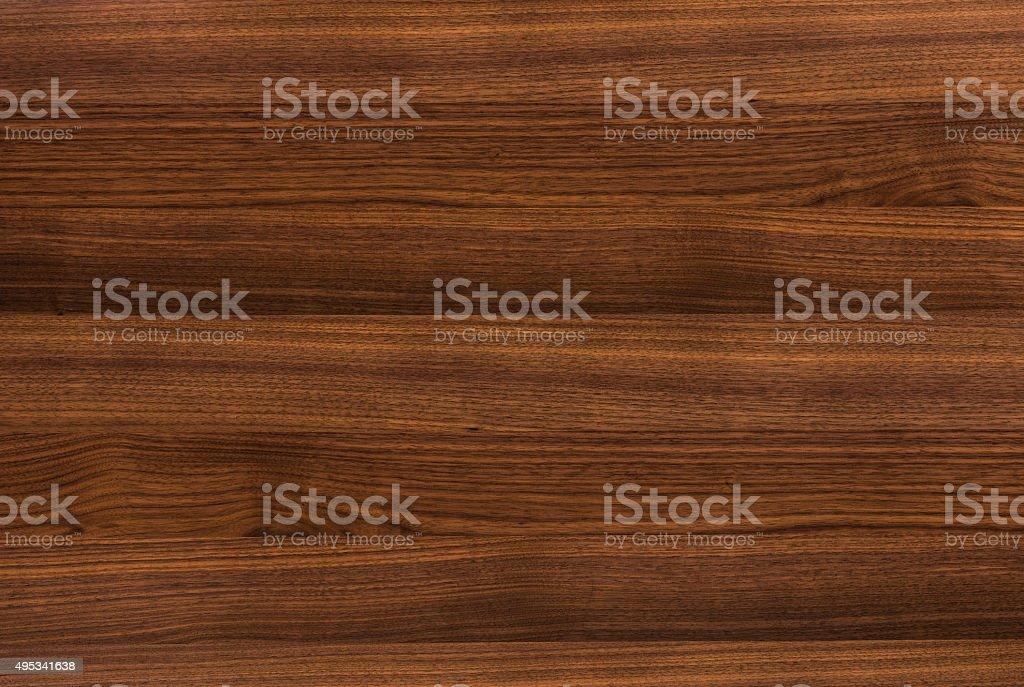background of Walnut wood surface stock photo