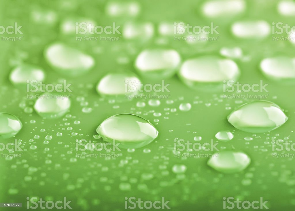 background of water drops royalty-free stock photo
