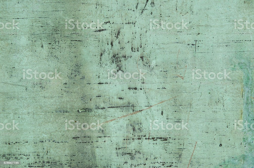 Background of weathered copper stock photo