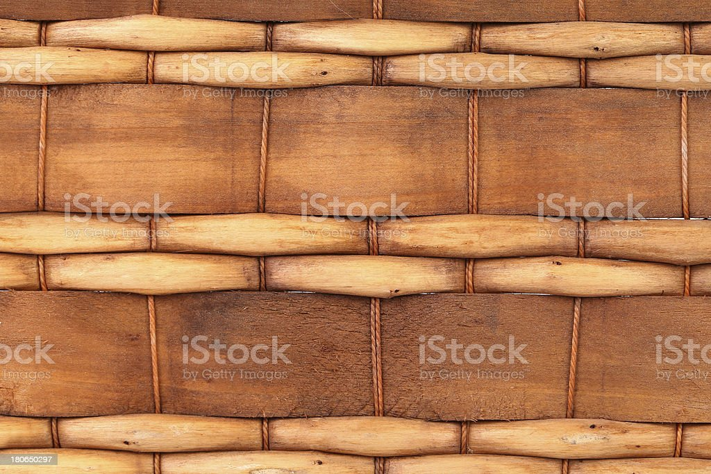 Background of wickerwork. Close up. royalty-free stock photo