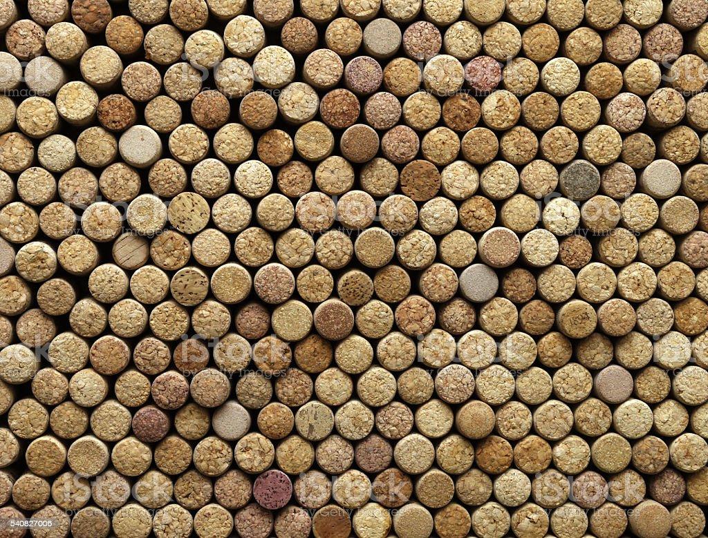 background of wine corks stock photo