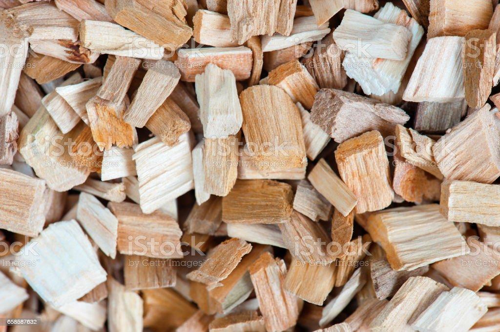 Background of wooden splints stock photo