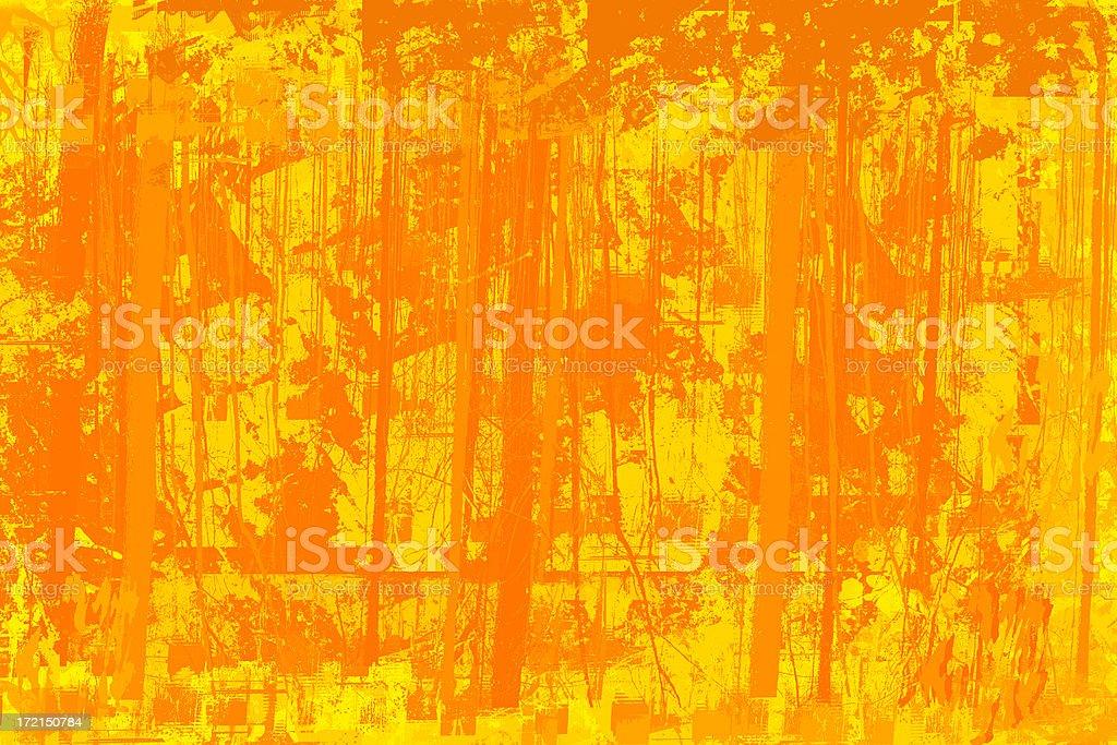 Background or Mask - Orange Grunge royalty-free stock photo