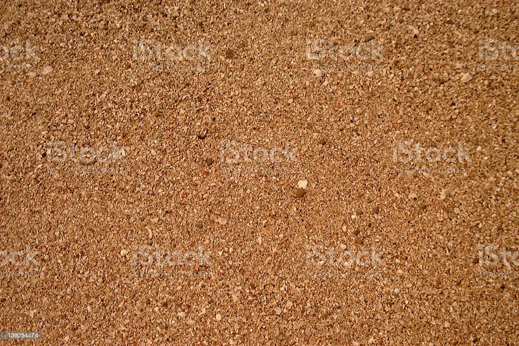 Background or texture of sand royalty-free stock photo
