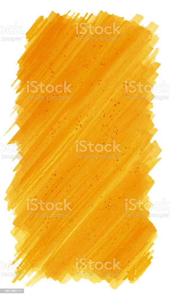 Background Orange Painted stock photo