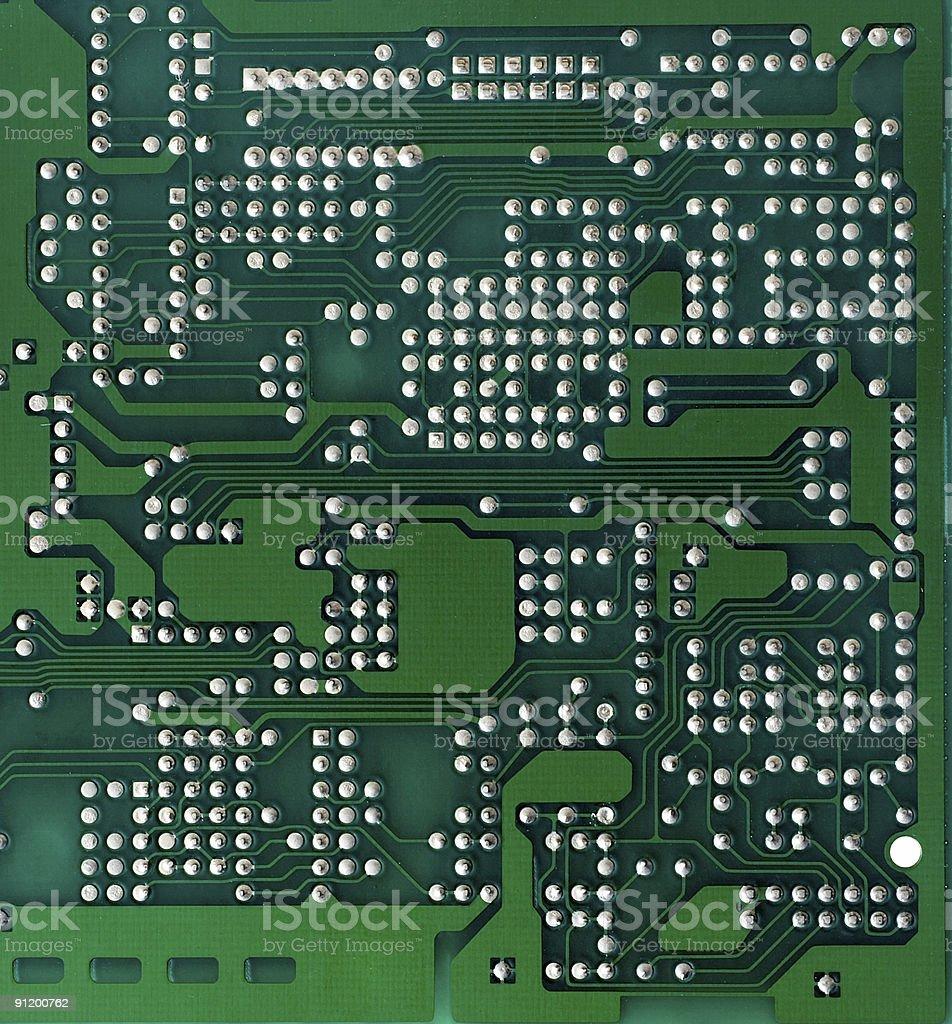 PCB background royalty-free stock photo