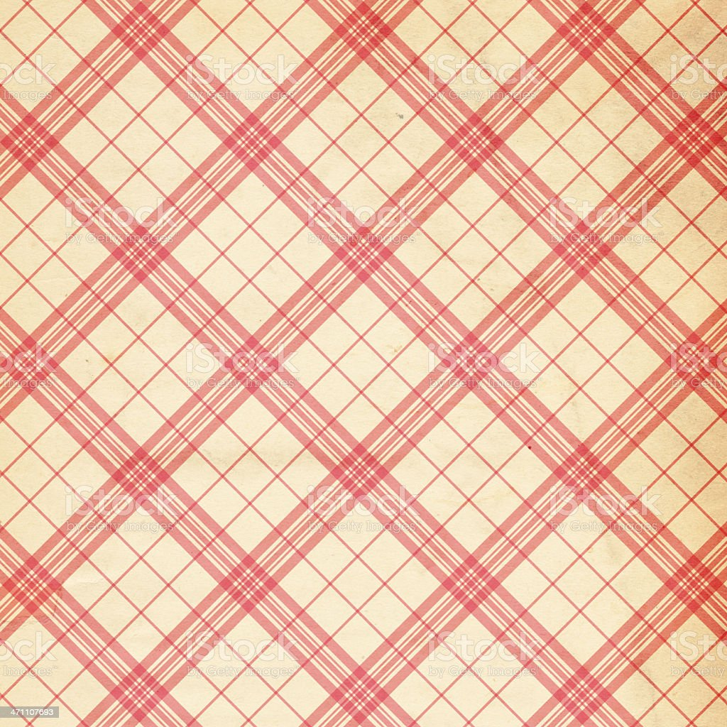 Background plaid design in red and ran royalty-free stock photo