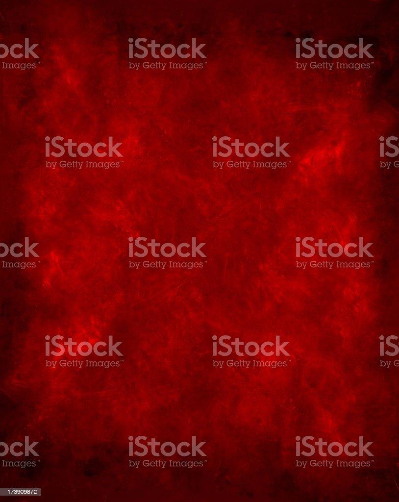 Background - Red Grunge with Dark Border. stock photo