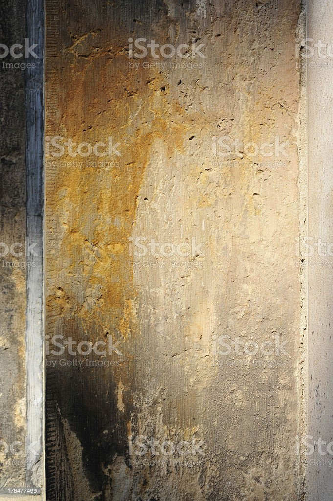 Background rust wall royalty-free stock photo