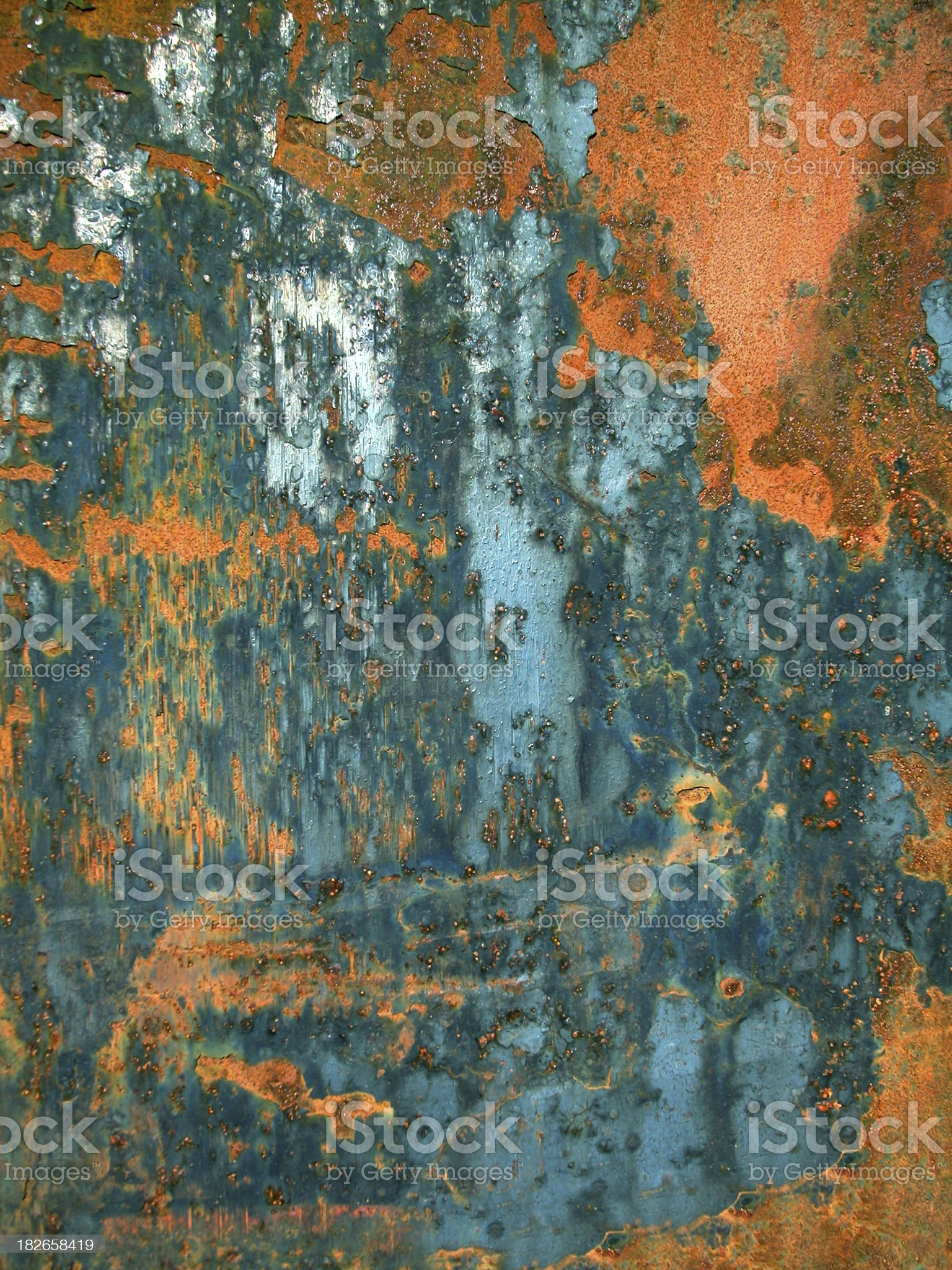 Background - Rusty - 02 royalty-free stock photo