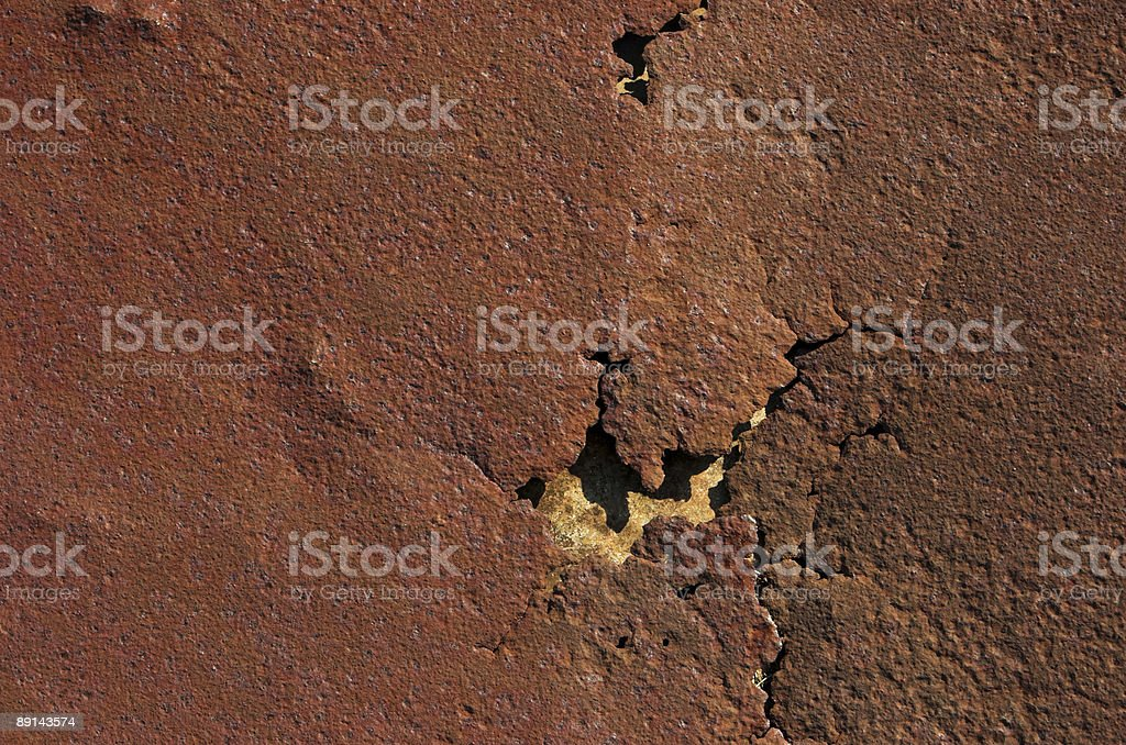 Background series: Rust texture royalty-free stock photo