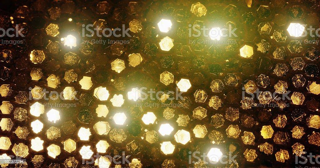 Background: shiny, glittery, twinkling, rhinestone bling stock photo