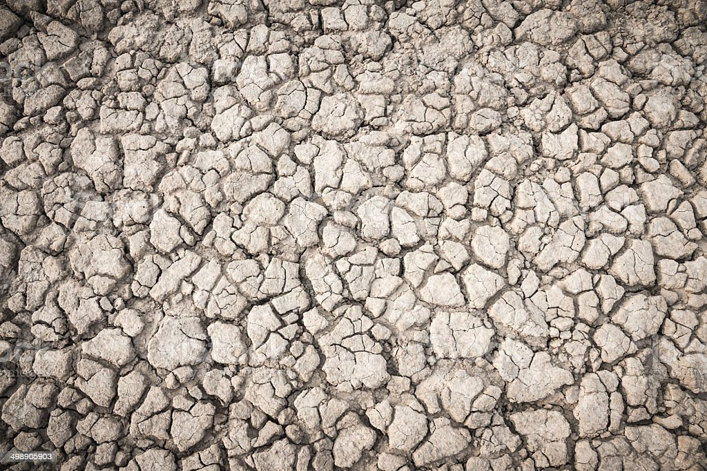 Background soil fissures royalty-free stock photo