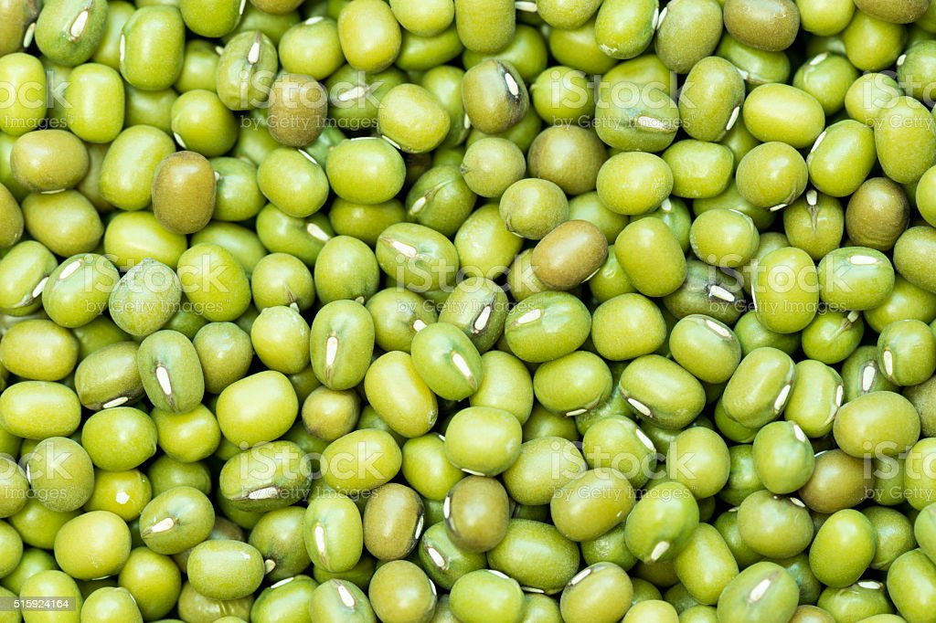 Background soybean close-up. stock photo