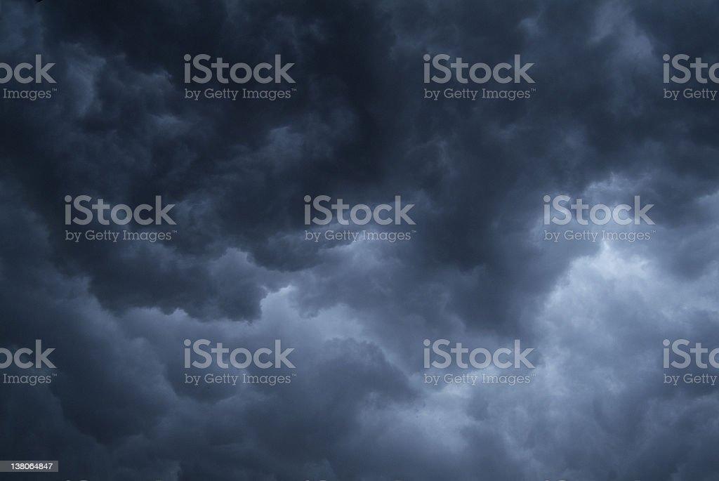 background - stormy sky #2 stock photo