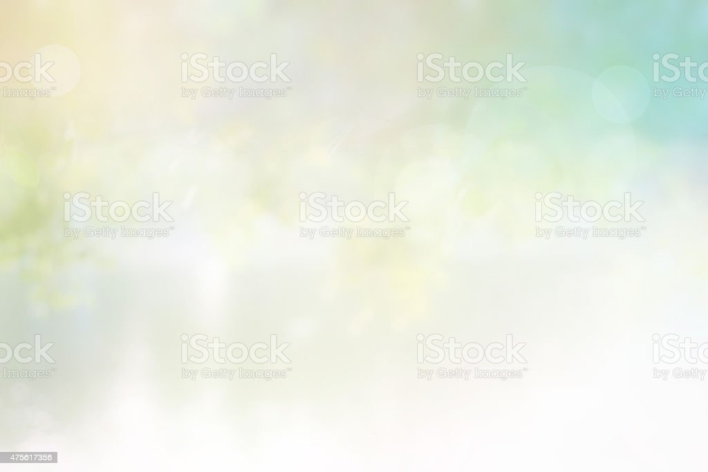 Background sunlight nature blurred, Pastel color tone stock photo