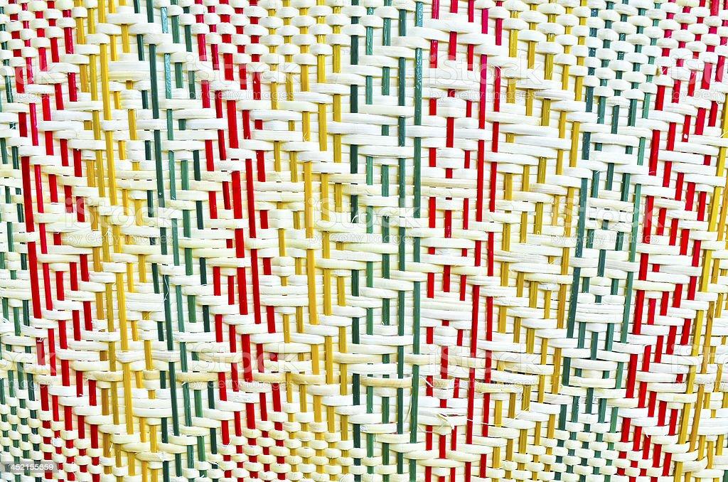 Background texture - natural wickerwork handmade royalty-free stock photo
