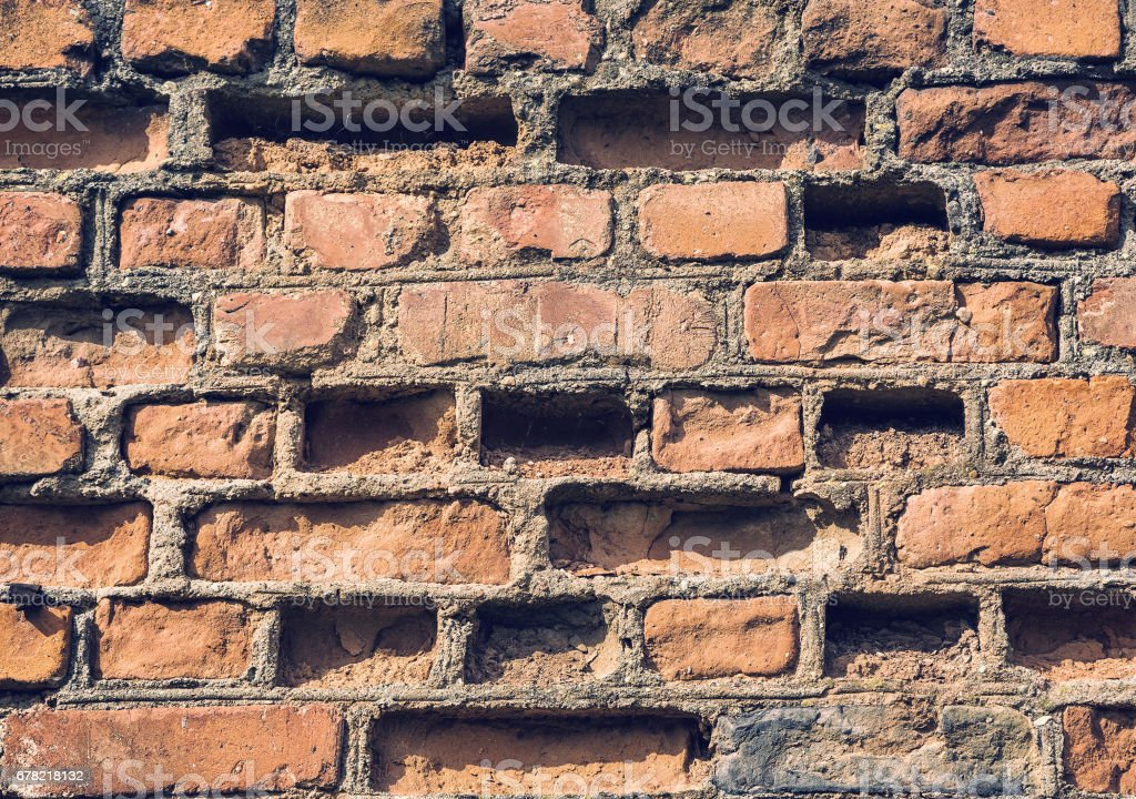 background texture of a brick stock photo