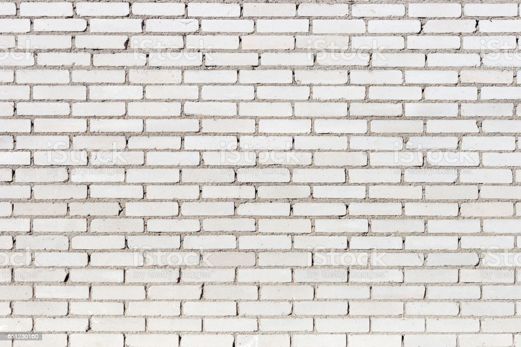 Background texture of a old white brick wall stock photo