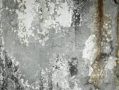 Background texture of aged cracked concrete wall