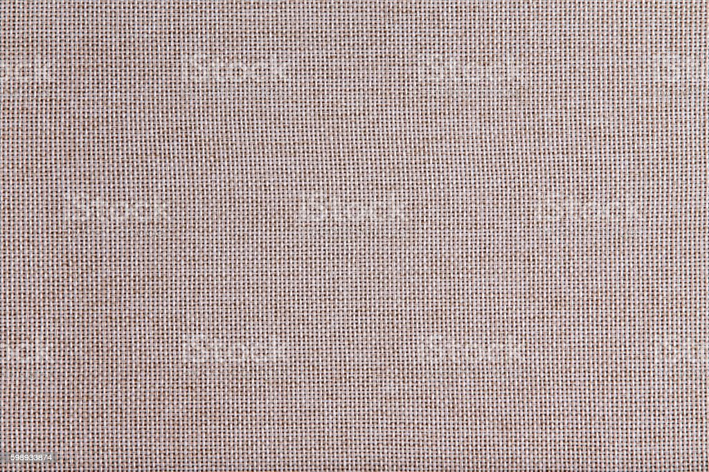 Background texture of coarse woven beige cloth stock photo