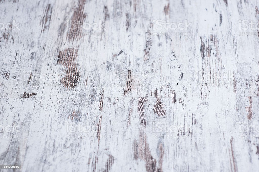 Background texture of old white painted wooden lining boards wall stock photo
