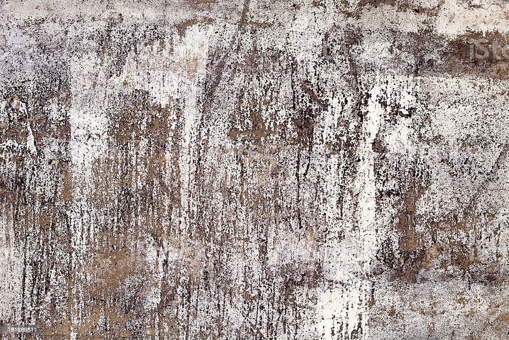 Background texture of weathered white exterior wall royalty-free stock photo
