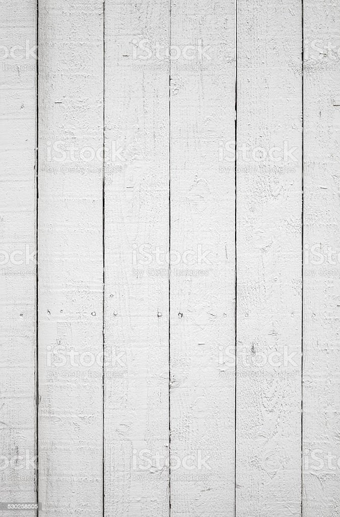 Background texture of white wooden wall stock photo