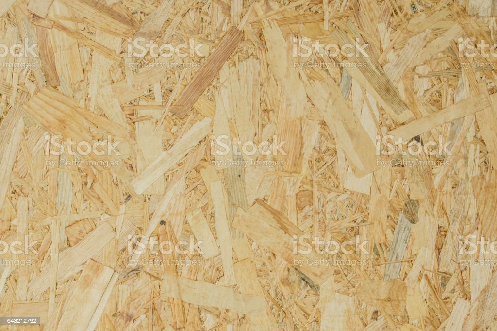 background texture of Wood chips felted brown color stock photo