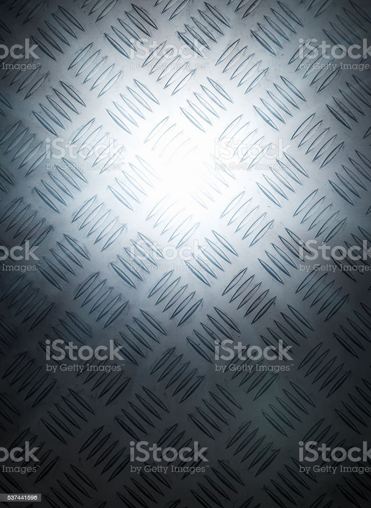Background, texture, treadplate, metal, industrial, pattern, spotlit, stock photo