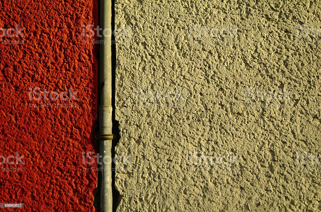 background texture wall and metal pipe stock photo