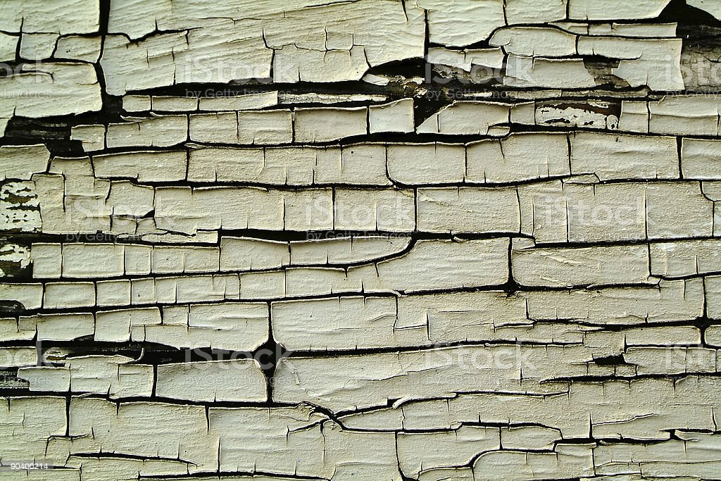 background texture wood with paint flaking off stock photo