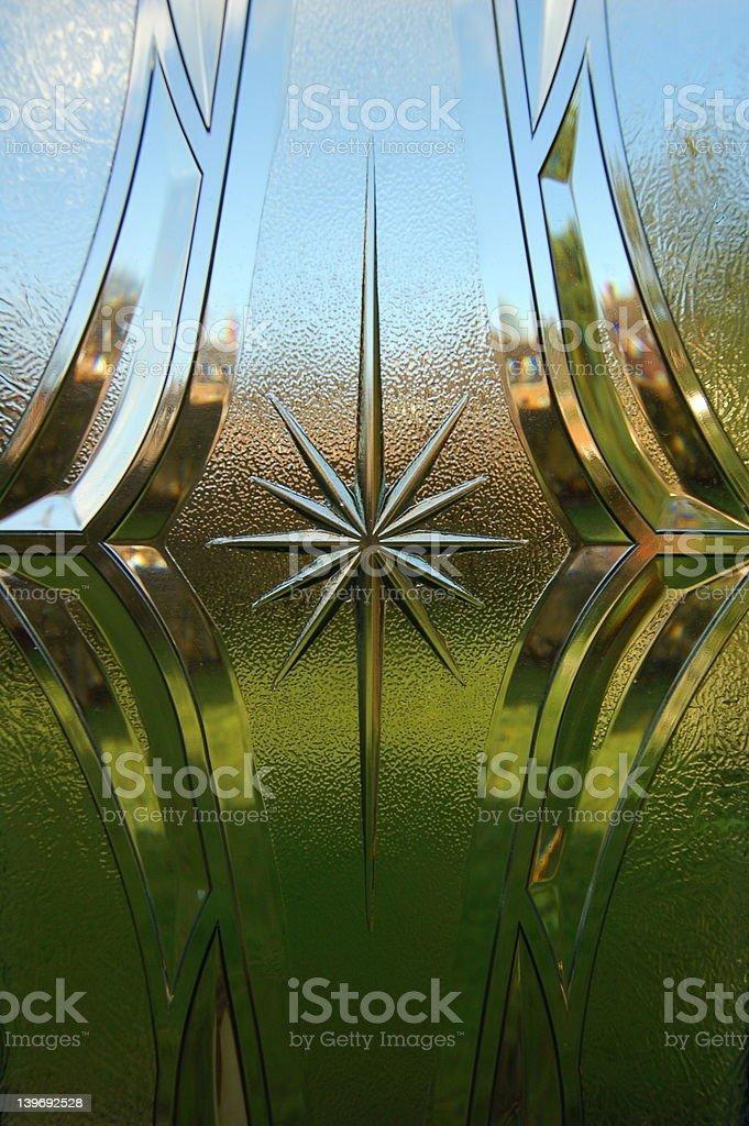 Background - Through the Window stock photo