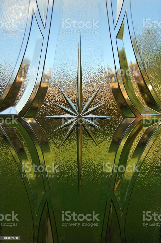 Background - Through the Window stock photo