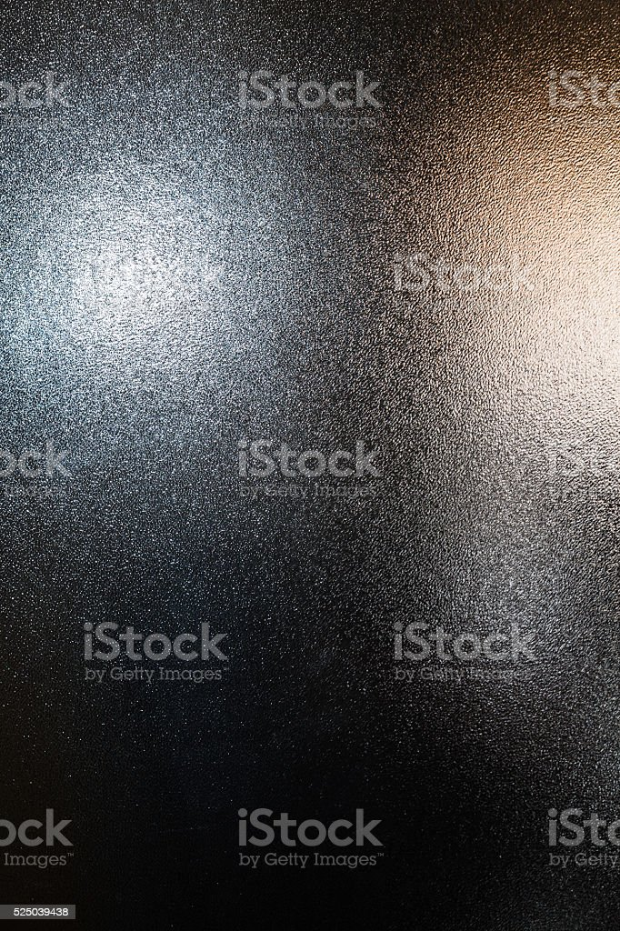 background two lights reflected in grained surface stock photo