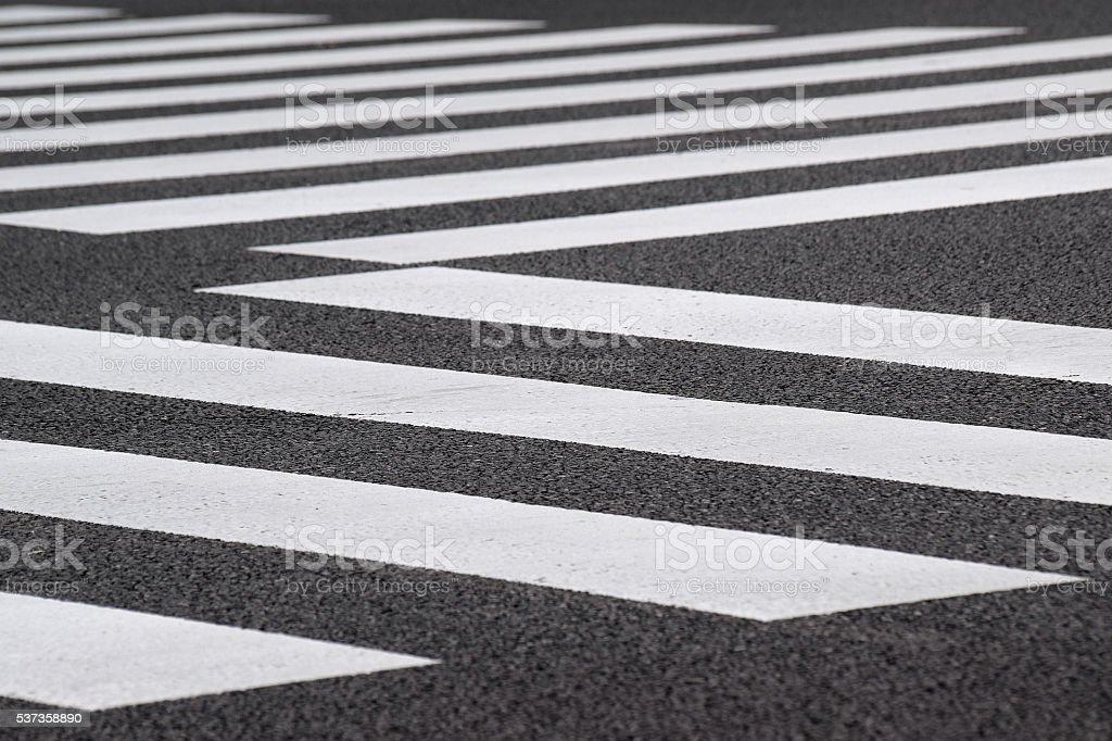 Background Urban Pedestrian crossing stock photo