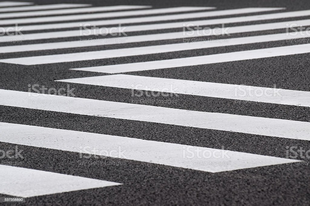Background Urban Pedestrian crossing stock photo